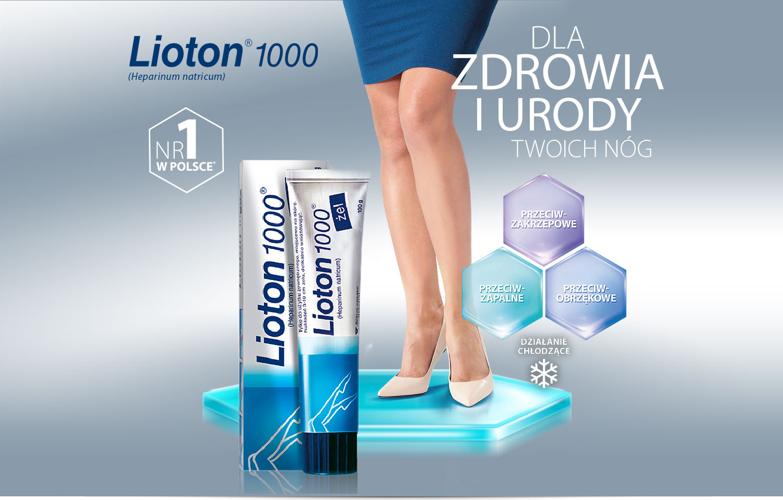 Lioton - żel Lioton 1000